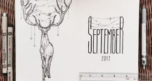 27 großartige September Bullet Journal Layouts, die Sie inspirieren - #Bullet #Inspire #Jo ...